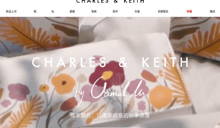 小ck CHARLES & KEITH