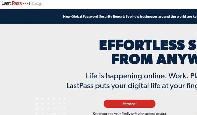 密碼管理助手 LastPass