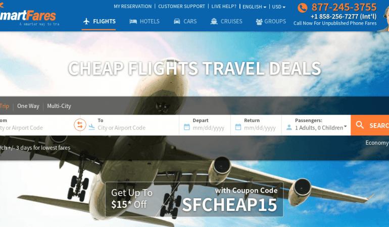 SmartFares 旅遊網