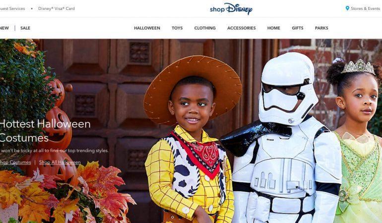 Disney Store 迪士尼網路商店
