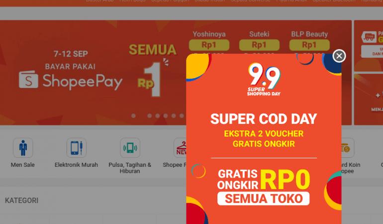 Shopee 蝦皮購物 印尼 Indonesia