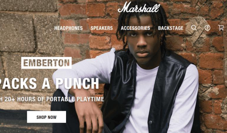 英國藍牙喇叭 Marshall